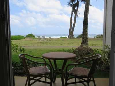 Photo for #152 - Direct Oceanfront Kauai Rental By Owner Ocean View FREE WiFi Parking A/C