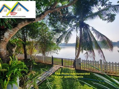 Photo for @MyH LAKE FRONT 4 BR Pvt Villa, 24hrs Cook, 45 min Drive to Capital (Min 4 pax)