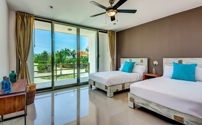 Photo for Apartment in Playa del Carmen with Air conditioning, Parking, Garden, Balcony (509874)