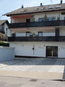 The house in the front. It has 3 Holiday Appartements