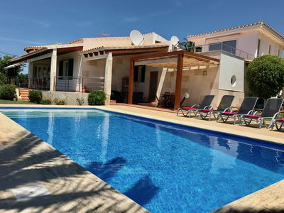 Photo for BEAUTIFUL VILLA WITH POOL 3OOMTS FROM THE BEACH