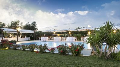 Photo for villas and rooms in a farmhouse with swimming pool 500 meters from the sea within walking distance Rome