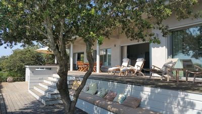 Photo for Superb Modern Villa Figari Bay, Southern Corsica