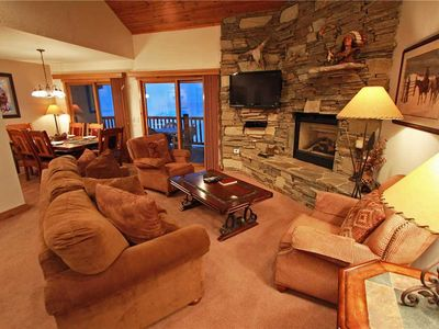 Photo for Snow Flower Condo #74, 3 bed/loft, 3 bath, sleeps 10, SKI-IN/SKI-OUT to Park City Mountain Resort
