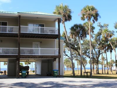 Photo for Hammock By The Bay # 5 - 3 Bed / 3 Bath Bay Front Townhome on St. Joseph Bay