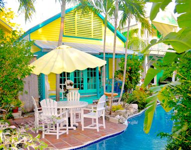 Photo for Lazy River Pool, Enchanting Garden, Old Town Key West, Free WiFi, Bikes & Parkin