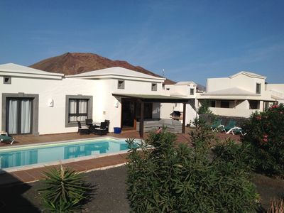 Photo for Luxury Villa with private electrically heated pool and sea views
