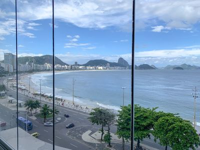 Photo for CaviRio - M - Luxury apartment facing Copacabana beach