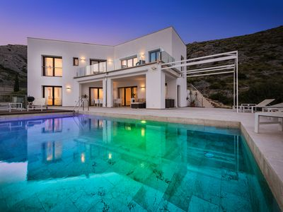 Photo for Vista Bahia is a Stunning holiday villa with gorgeous vistas of Pollensa and Cala Sant Vicente