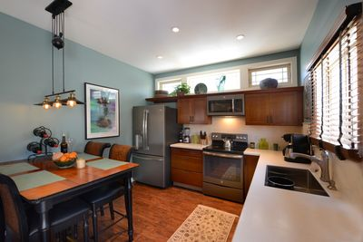 All new gourmet kitchen, solid cherry cabinets, all new stainless appliances