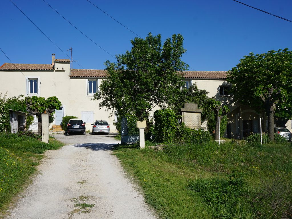 In the countryside, near the town for vacation or short-term rental (