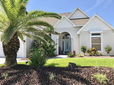 Photo for Beautiful Barrier Island Home steps from the Beach
