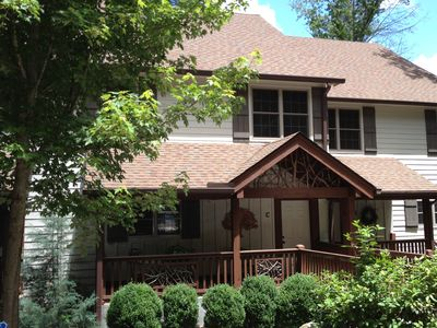 Photo for Spacious Luxury Townhome Walking Distance from Sapphire Valley Resort amenities