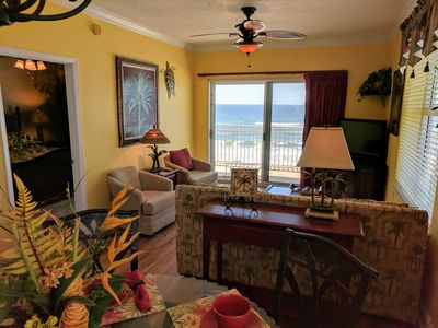 Photo for PRICE DROP!!   Gulf Front: Beautiful, Updated Luxury West Corner Unit
