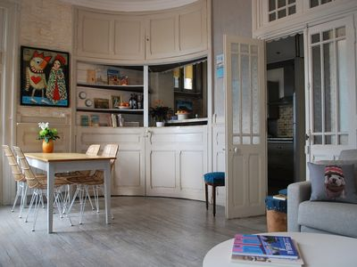Photo for Charming rental for a couple, sea view. Villa Ma Folie