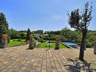 Photo for Tenuta Sant'Agata on the Sorreno hillside, with garden, private pool, it can accommodate 10 guests.