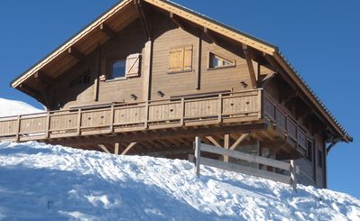 "Photo for Chalet ""Génépi"" sleeps 15 - at the foot of the slopes - La Toussuire"