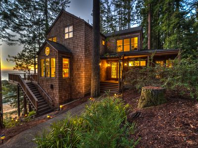 Photo for Located on the Ridge Nestled Among Redwood Trees