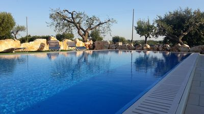 Photo for Trulli with Pool - Relax in Valle d'Itria