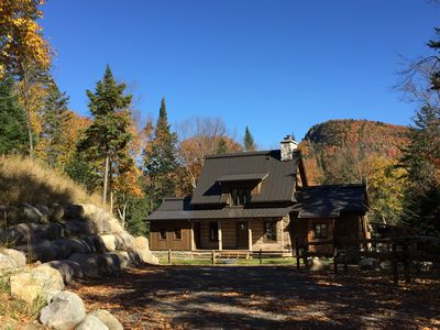 Canadian Log Cabin in Tremblant