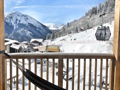 Photo for Charming flat -  At the foot of slopes LA PLAGNE CHAMPAGNY -  Family resort