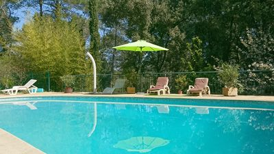 Photo for Property with swimming pool in private park