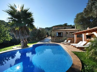 Photo for Beautiful country house with pool located in a privileged environment of Petra