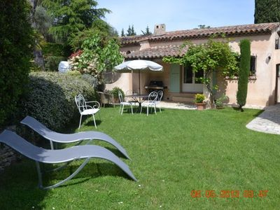 Photo for At Mougins, in independent rental property for 2-4 persons