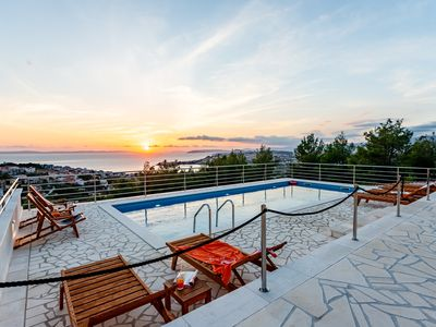 Photo for ANCORA villa with amaizing view on the sea and mountain