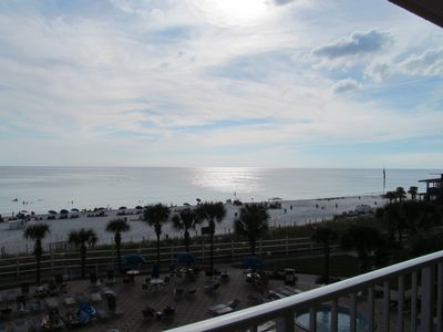 Another View From Your Balcony...Miles & Miles Of White Sand and Water...Wow!