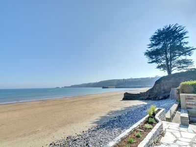 Photo for Rainbow Leap is a fabulous house set right on the beach in Saundersfoot and a short drive to Tenby.