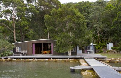 Photo for OXLEY BOATSHED . arrive by boat . HAWKESBURY RIVER. stunning original boatshed