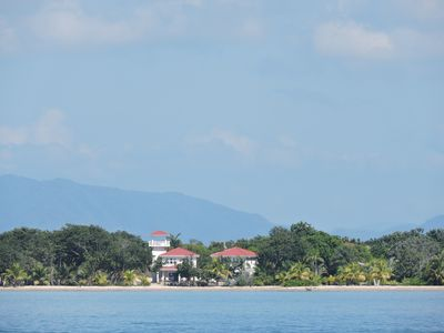 Photo for Beautiful Beach Front Estate with Private Pool, Walk to Quaint Village