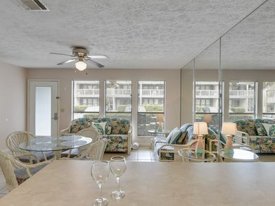 Photo for Cozy beach cottage located on the West end & only a block away from the beach