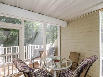 Photo for 2004W: 1BR Sea Colony West condo w/ private sundeck! Walk to beach, pools ...