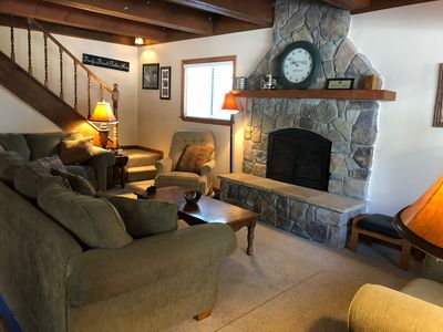 Photo for Perfect family cabin - walking distance to beach