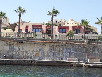 Photo for Private Seafront Villa with Pool & Jacuzzi