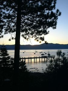 Photo for Lakefront N Lake Tahoe W/ Private Beach and Pier, Great Views