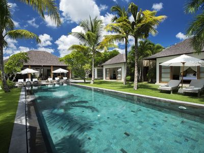 Photo for Palatial Luxury 7 Bedroom Villa, Central Seminyak