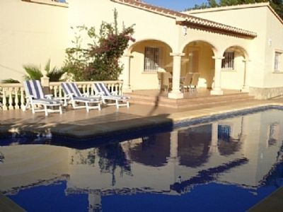 Photo for Beautiful Detached Villa With 12 Metre Pool near Beach