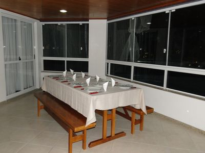 Photo for Central Apartment Balnaerio Camboriu 3 Bedrooms with Barbecue