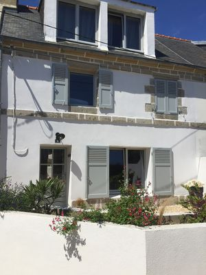 Photo for Fisherman's house completely renovated 10 minutes walk from the beach Loc'h