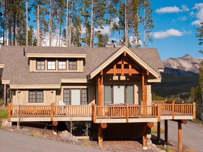 Photo for Amazing Location , Ski-in/Out Chalet With Large Deck, BBQ, and Private Hot Tub!