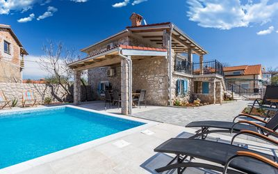 Photo for Old Stone House Apartment With A Swimming Pool