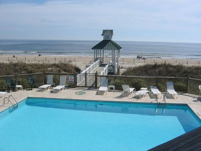Photo for NEW LISTING! PROFESSIONALLY DECORATED ST. JAMES CONDO; BEACH CLUB; GOLF VIEWS