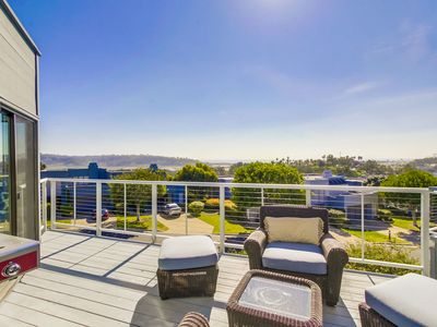 Photo for Luxury Modern Two Story Condo w/ A/C and Ocean Views
