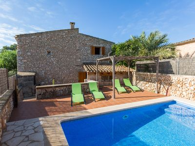Photo for CASA RURAL SA SORDA - Villa with private pool in Campos.