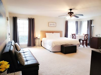 Spacious Suite with King size bed