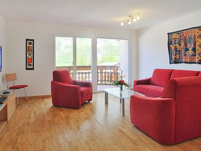 Photo for Apartment Iris A in Leukerbad - 4 persons, 2 bedrooms