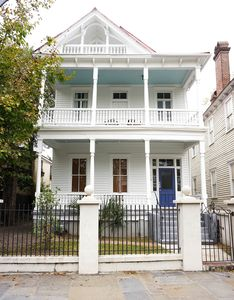 Photo for Historic Downtown Home Accommodating 16 with Private Balcony